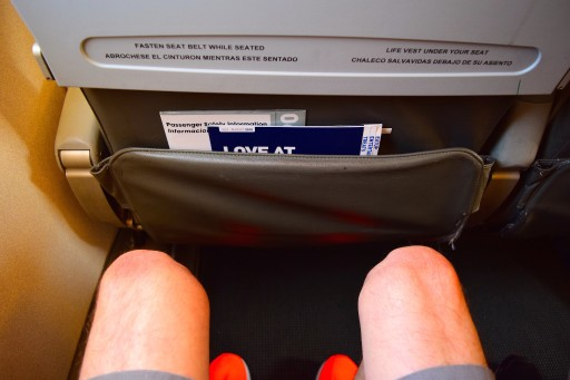 JetBlue Airways Embraer E190 E Jet Economy Cabin Standard Seats Pitch Legroom.0