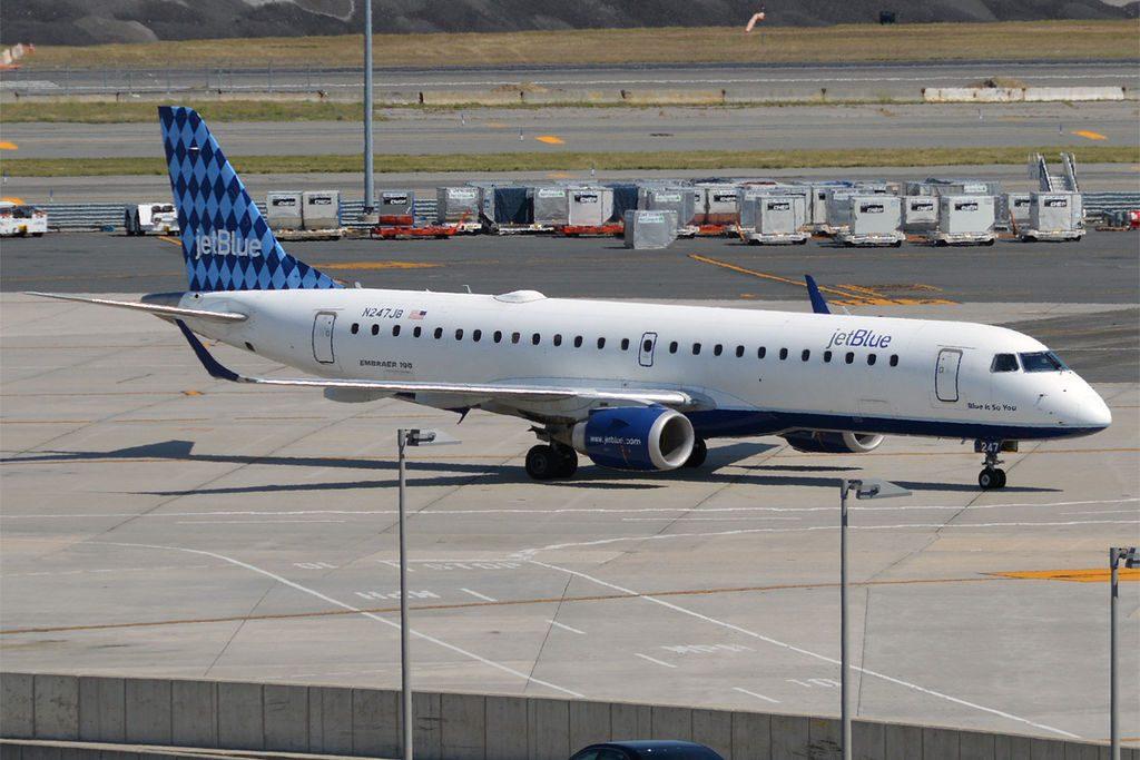 JetBlue Airways N247JB Blue Is So You Embraer ERJ 190AR at John F. Kennedy International Airport