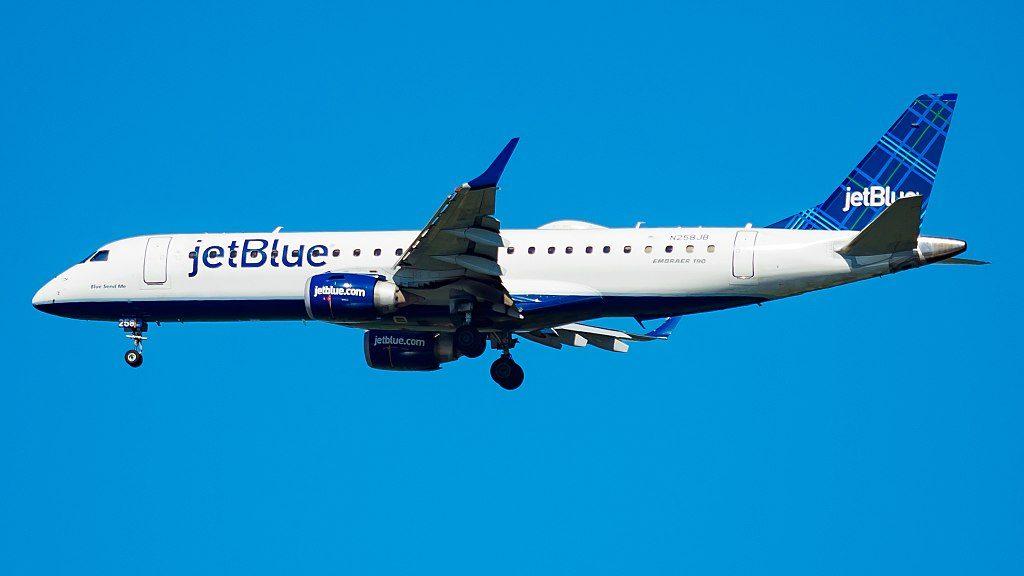 JetBlue Airways N258JB Blue Send Me Embraer ERJ 190AR at JFK Airport