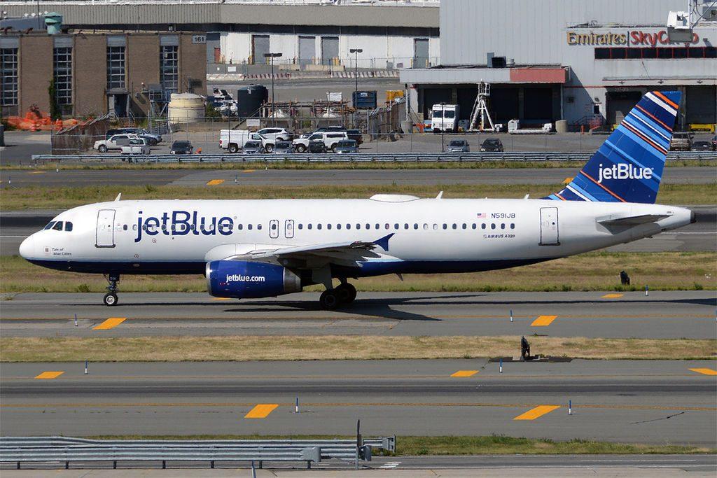 JetBlue Airways N591JB Airbus A320 232 Tale of Blue Cities at John F. Kennedy International Airport