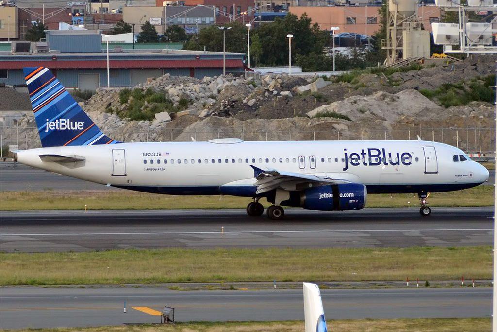 JetBlue Airways N633JB Airbus A320 232 Major Blue at John F. Kennedy International Airport