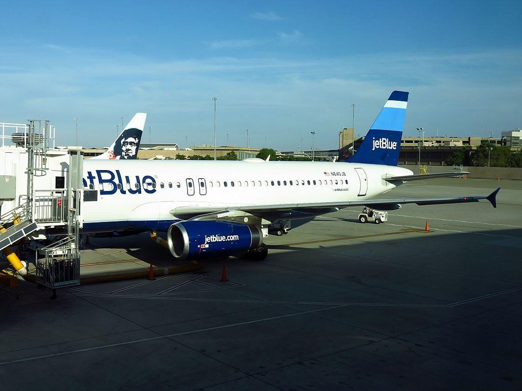 JetBlue Airways N640JB Blue Better Believe It Airbus A320 200 at Sacramento International Airport