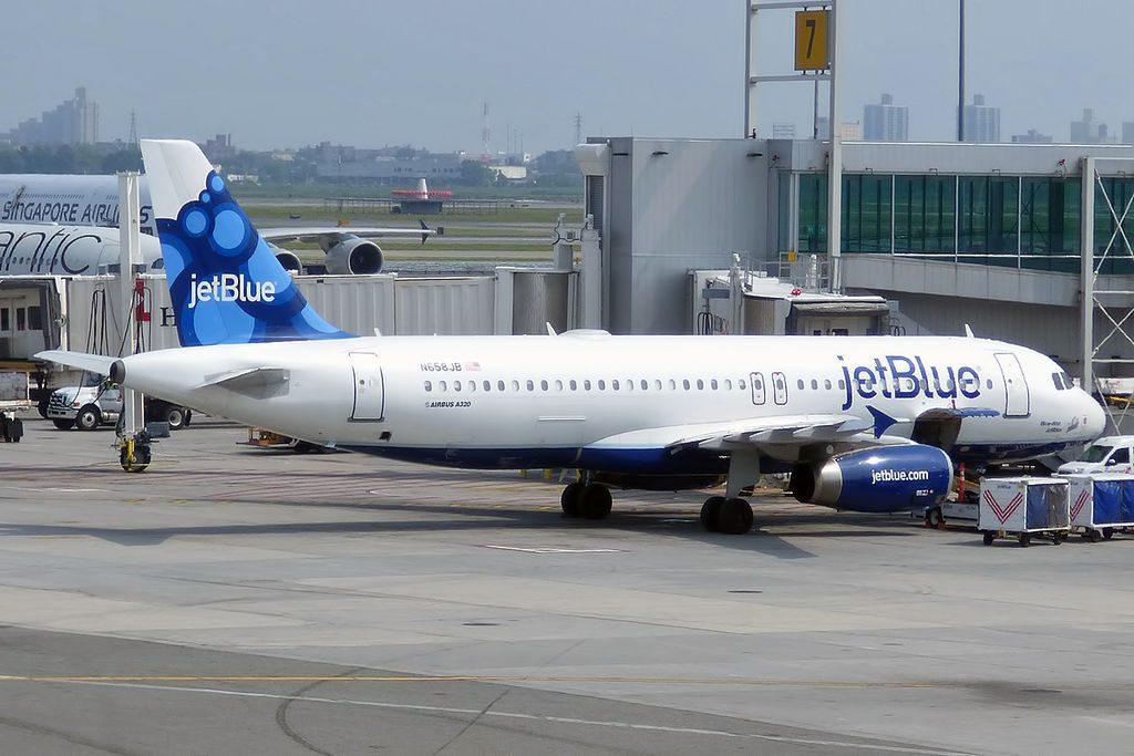 JetBlue Airways N658JB Woo Hoo JetBlue Airbus A320 232 at John F. Kennedy International Airport
