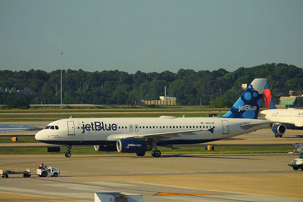 JetBlue Airways N661JB Airbus A320 200 Let The Blue Times Roll at Hartsfield Jackson Atlanta