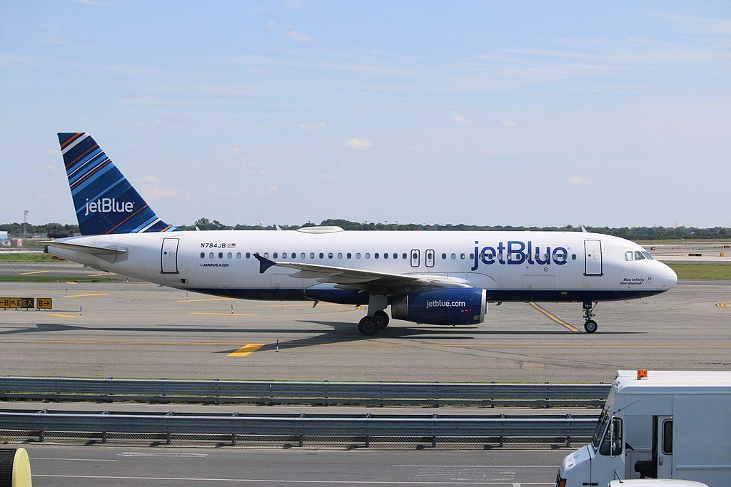 JetBlue Airways N784JB Airbus A320 232 Blue Infinity And Beyond Taxiing at New York JFK Airport