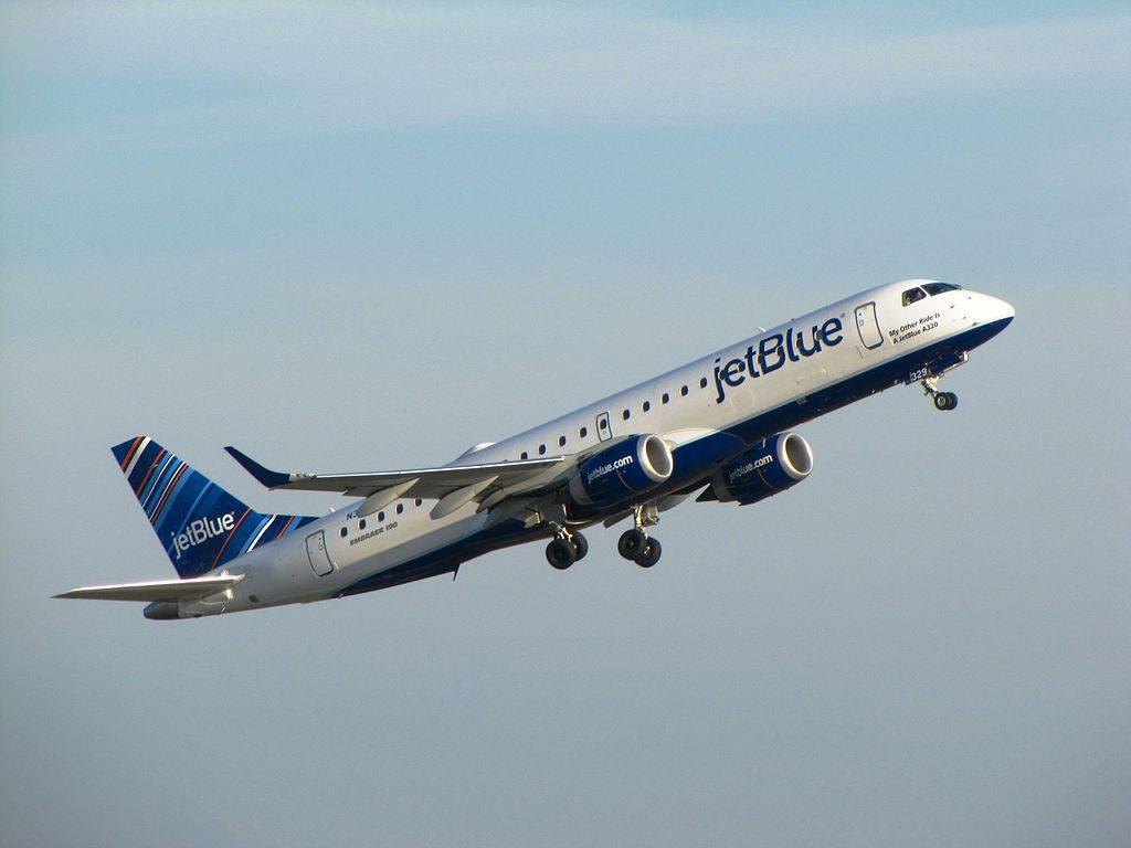 JetBlue Airways Regional Jet Embraer ERJ190 N329JB My Other Ride Is A JetBlue A320 at Logan International Airport