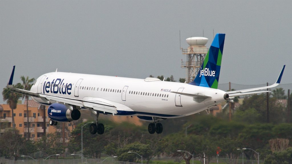JetBlue One Giant Leap for Mint Kind N929JB Airbus A321 200 at LAX