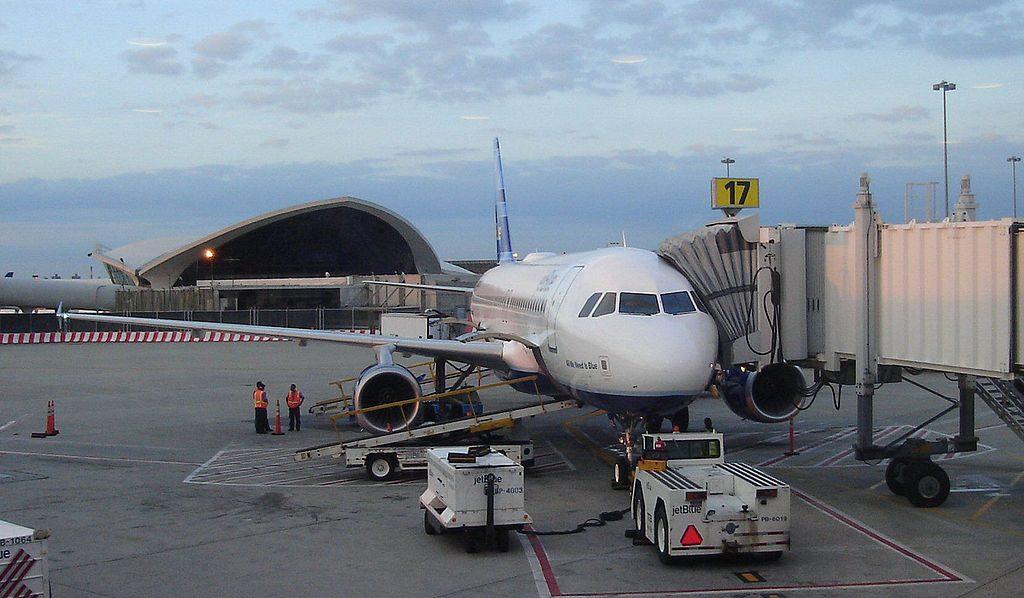 JetBlue airways Airbus A320 200 N623JB Playa way With Me at JFK airport terminal 6