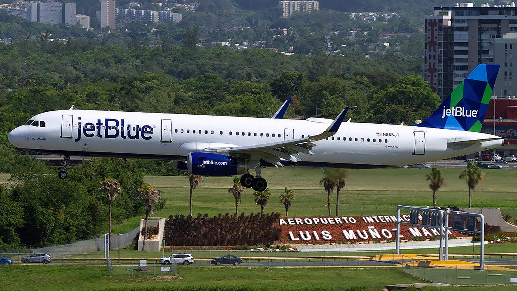 Jetblue Airways Airbus A321 231 N965JT BluesMobile at Luis Muñoz Marín International Airport IATA SJU ICAO TJSJ FAA LID SJU