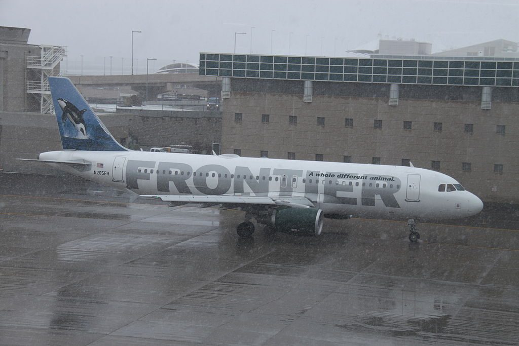 N205FR Airbus A320 200 Ozzy Frontier Airlines fleet at Denver International