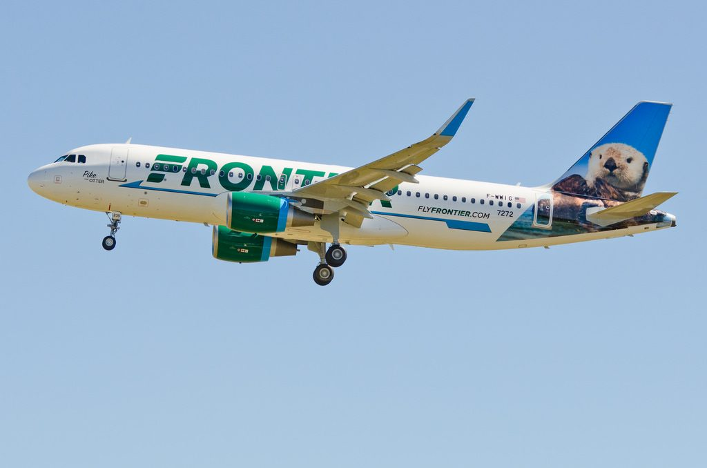 N235FR F WWIG Pike the Otter Airbus A320 214 Frontier Airlines Fleet