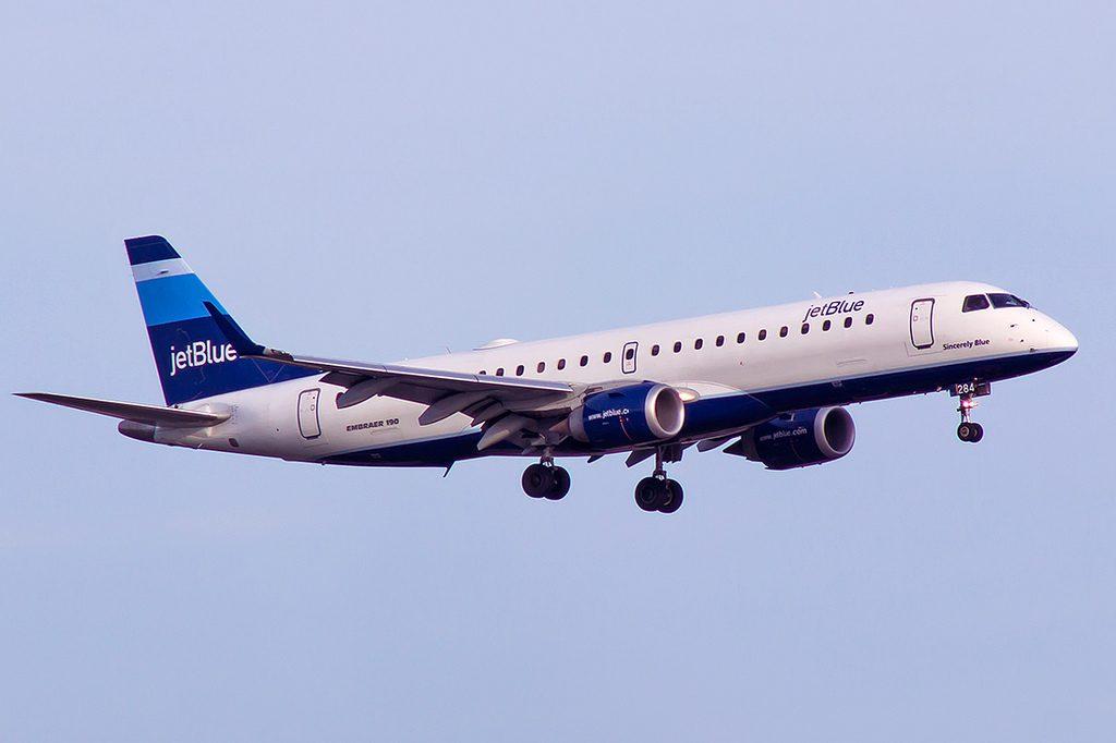N284JB Sincerely Blue Embraer ERJ 190 JetBlue Airways Fleet Aircraft Photos