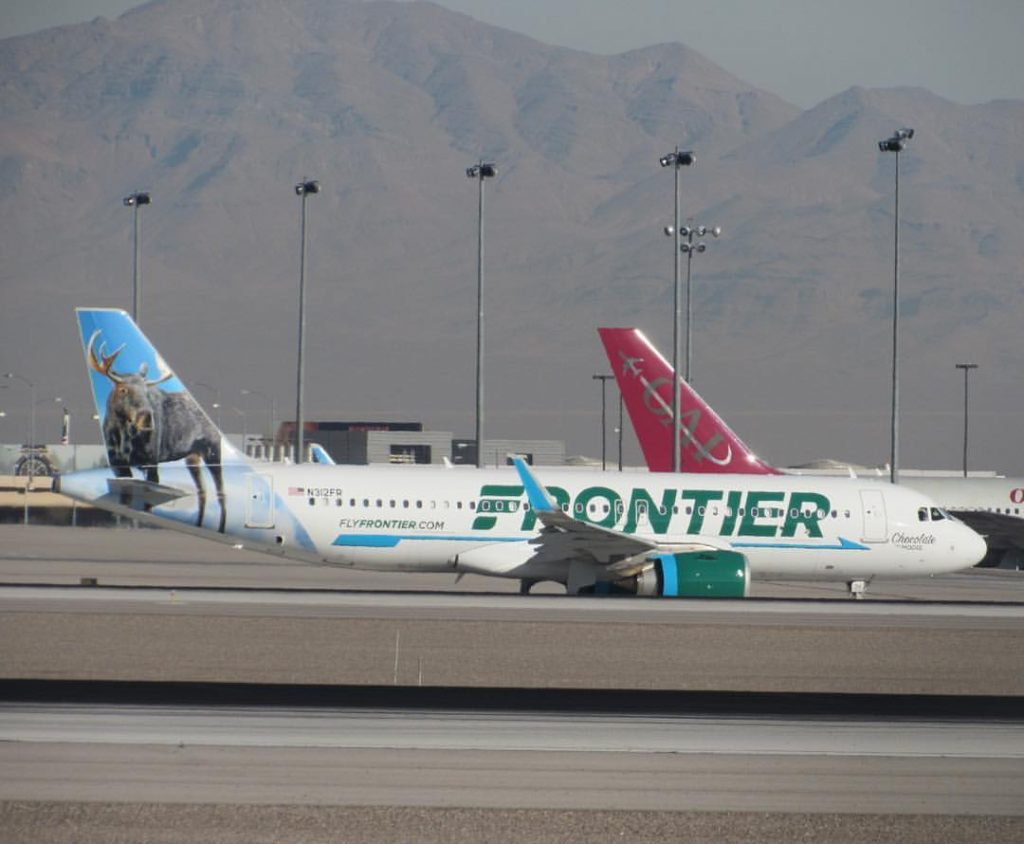 N312FR Frontier Airlines Airbus A320 251Neo Chocolate the Moose Aircraft Photos