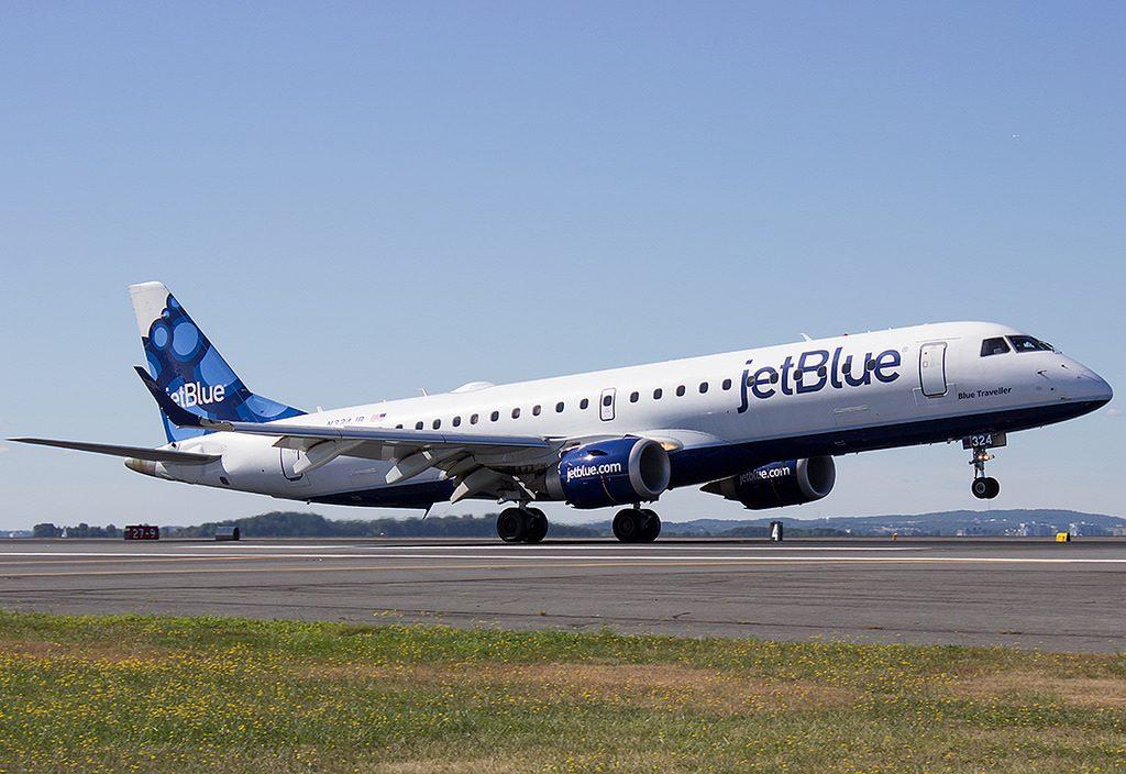 N324JB Blue Traveller JetBlue Airways Regional Jet Fleet Embraer ERJ 190 Photos