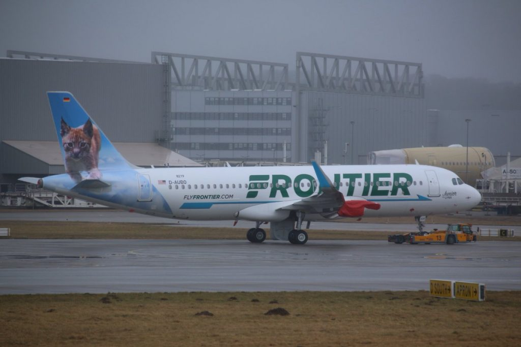 N330FR Airbus A320neo Frontier Airlines Fleet Junior the Lynx