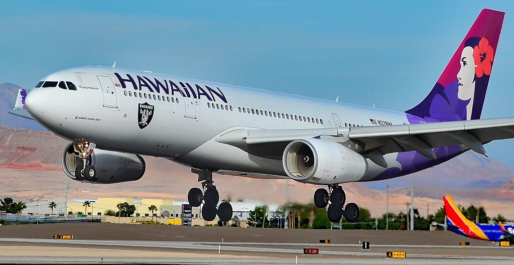 N378HA Hawaiian Airlines Fleet 2015 Airbus A330 243 cn 1615 22Kaukamalama22 at Las Vegas McCarran International LAS KLAS USA Nevada