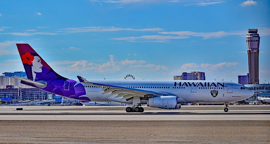 N378HA Hawaiian Airlines Fleet 2015 Airbus A330 243 cn 1615 22Kaukamalama22 at McCarran International LAS KLAS USA Nevada