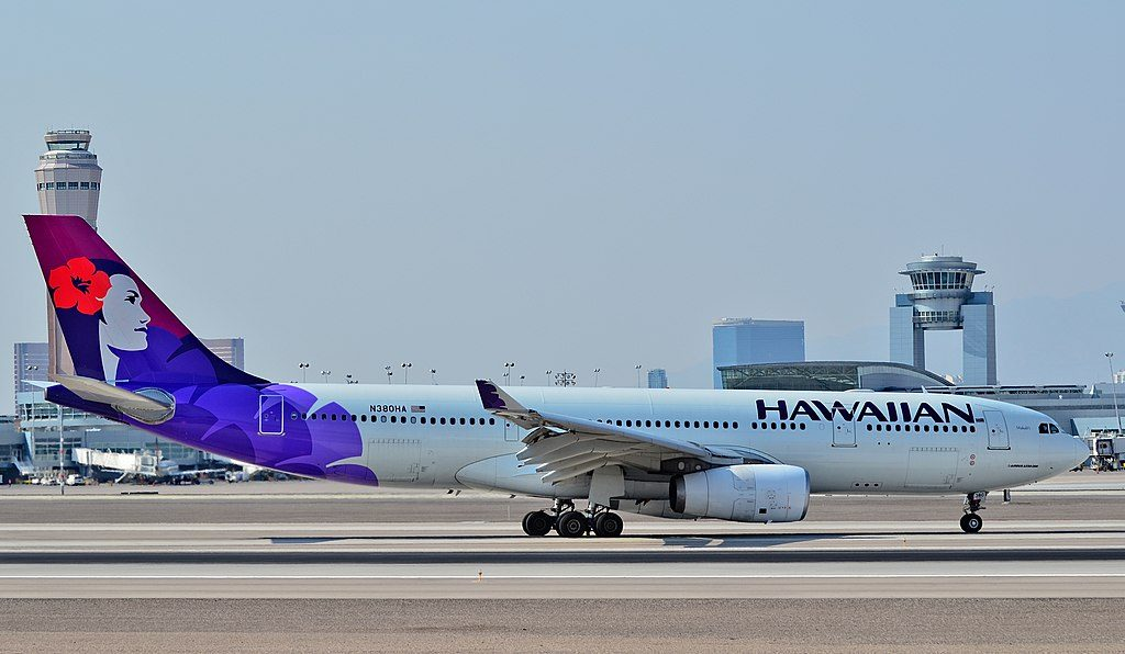 N380HA Hawaiian Airlines 2010 Airbus A330 243 cn 1104 22Makali i22 arrivals at Las Vegas McCarran International Airport LAS KLAS USA Nevada