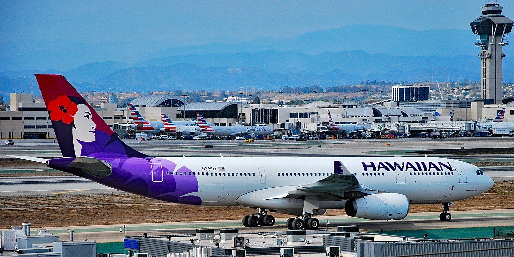 N391HA Hawaiian Airlines Airbus A330 243 s n 1399 22Hokulei22 Los Angeles International Airport IATA LAX ICAO KLAX FAA LID LAX