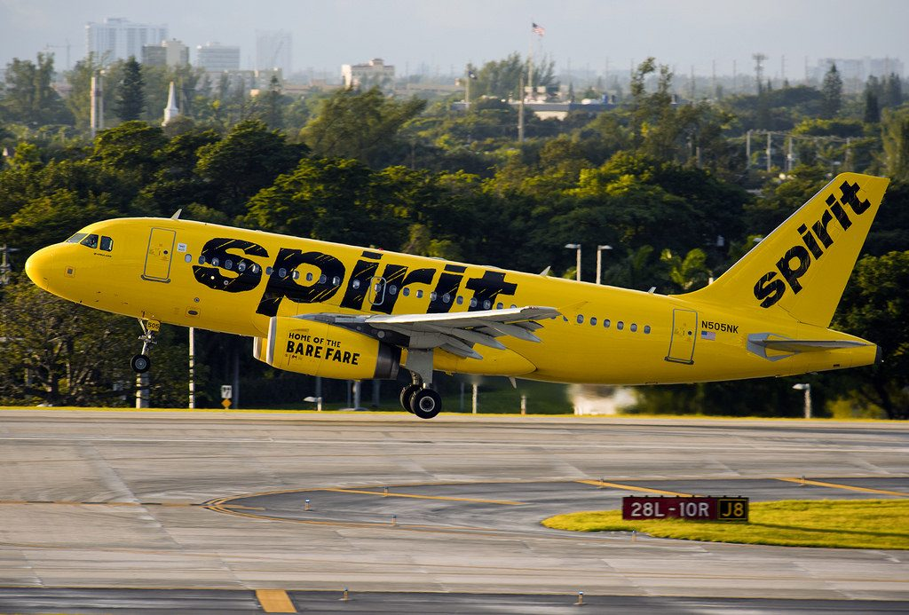 N505NK Spirit Airlines Fleet Airbus A319 100 at Fort Lauderdale–Hollywood International Airport