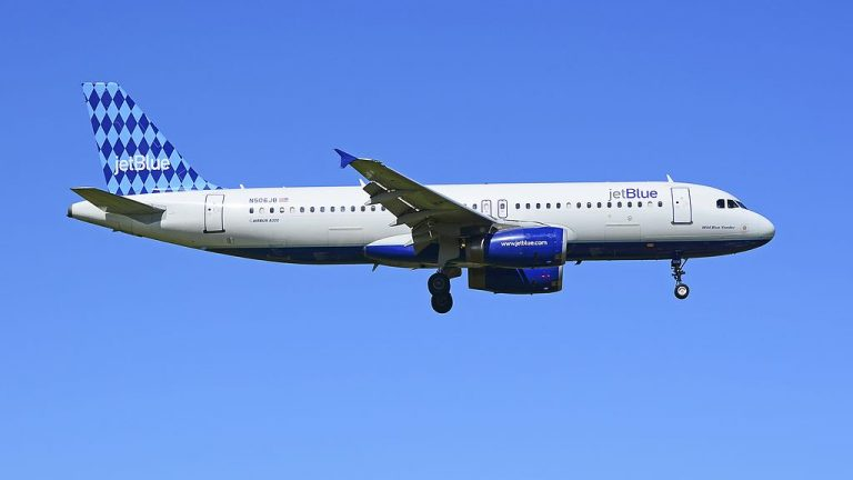 N506JB JetBlue Airways Airbus A320 232 cn 1235 Wild Blue Yonder at San Juan Luis Munoz Marin International SJU TJSJ Puerto Rico