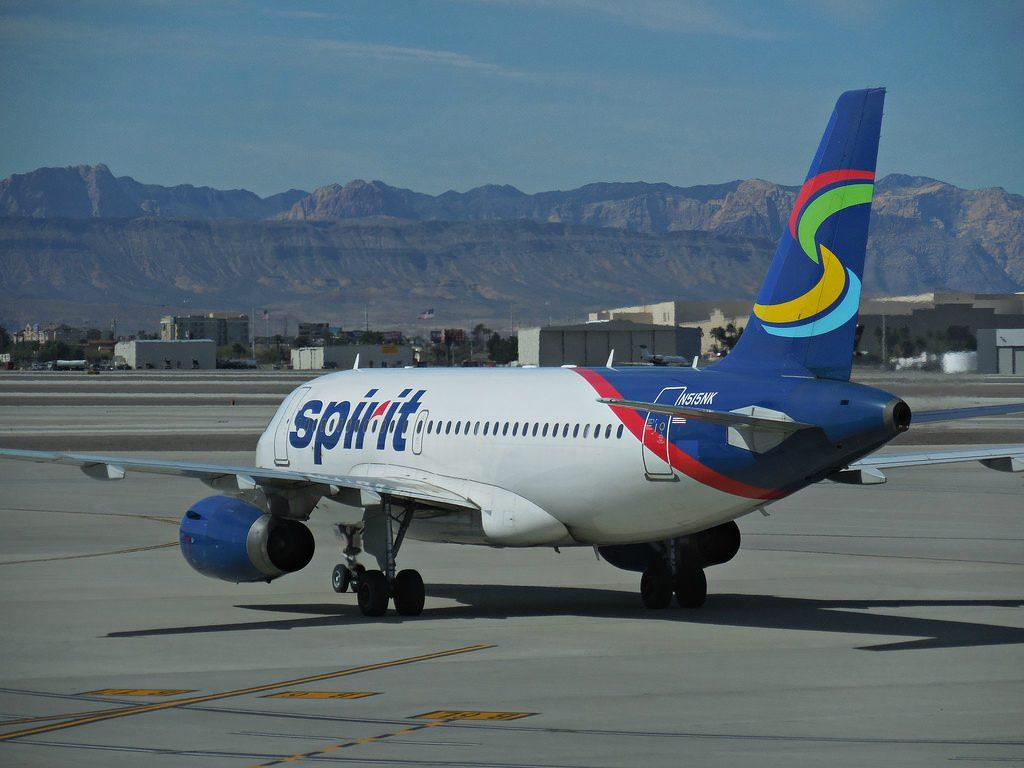 N515NK Airbus A319 132 cn 2698 Spirit Airlines departing Las Vegas KLAS