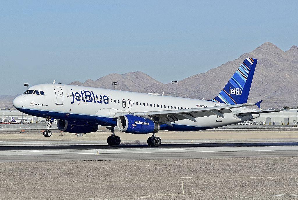 N531JL JetBlue Airways Airbus A320 232 cn 1650 All Blue Can Jet at McCarran International LAS KLAS USA