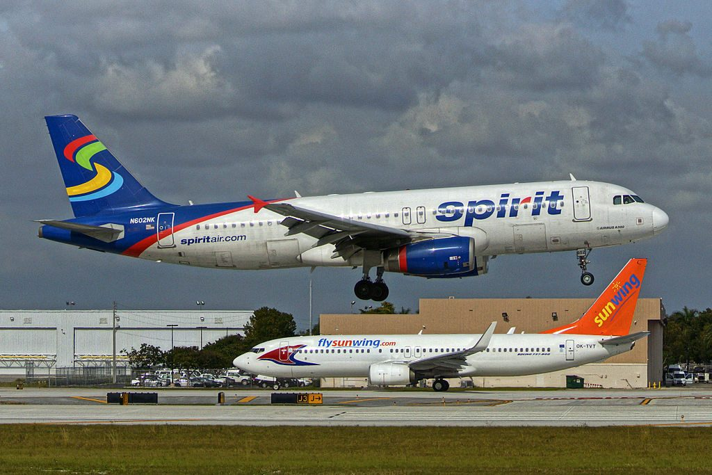 N602NK Spirit Airlines Airbus A320 232 at Fort Lauderdale – Hollywood International Airport