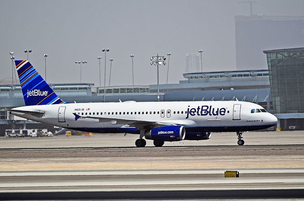 N621JB JetBlue Airways Airbus A320 232 CN 2491 Do Be Do Be Blue at McCarran International LAS KLAS USA