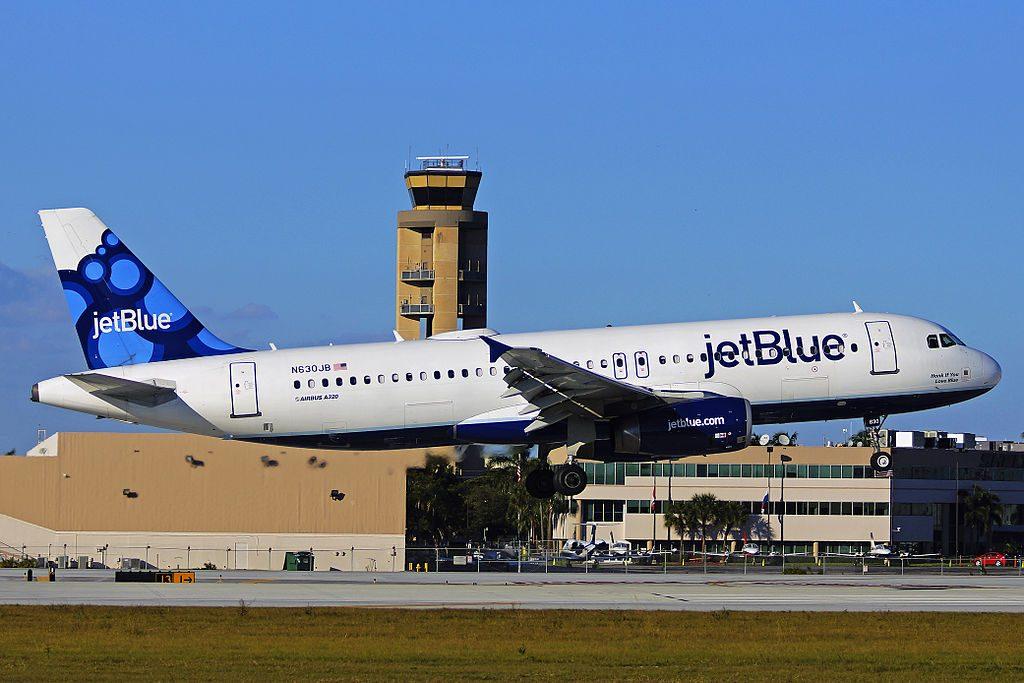 N630JB Airbus A320 200 JetBlue Airways Honk if You Love Blue departure Fort Lauderdale – Hollywood International Airport