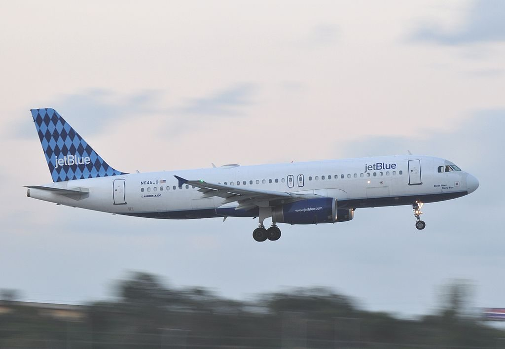 N645JB JetBlue Airways Airbus A320 232 cn 2900 Blues Have More Fun at Fort Lauderdale – Hollywood International Airport