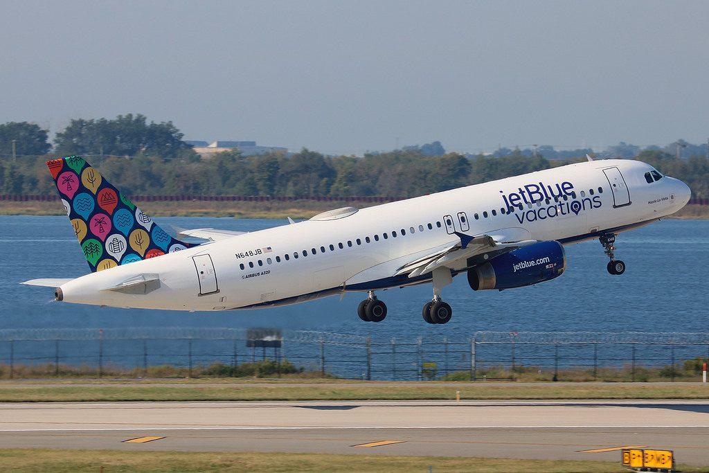 N648JB Airbus A320 232 jetBlue Airways Hasta La Vista vacation livery