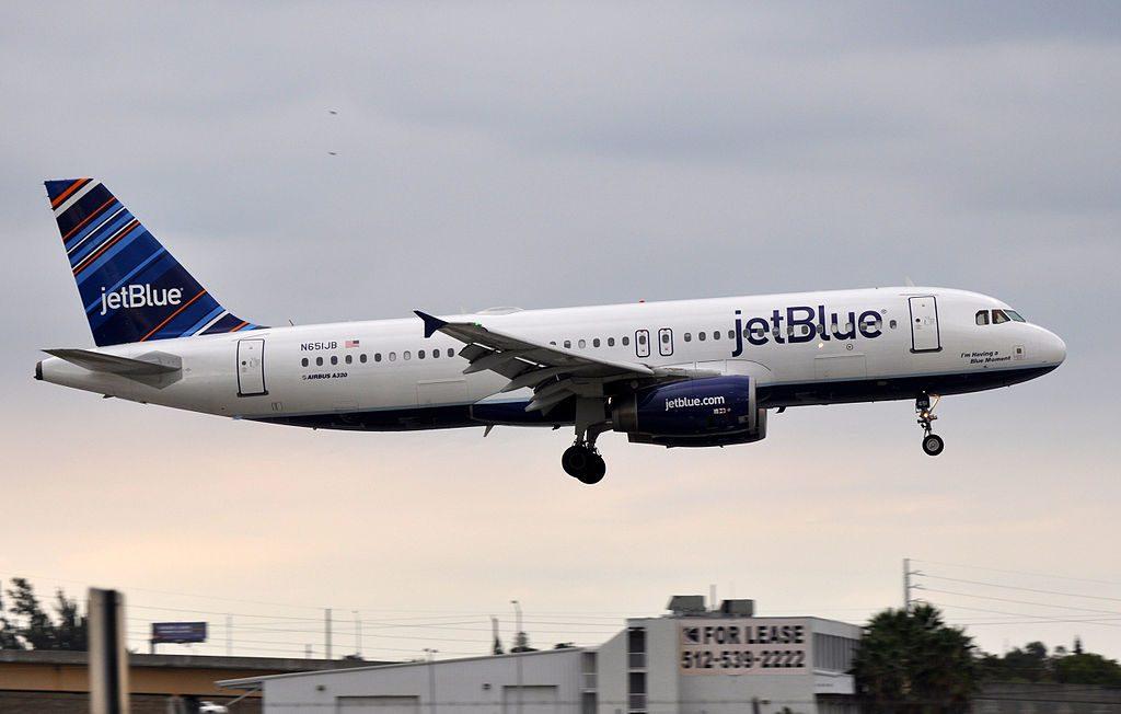 N651JB JetBlue Airways Airbus A320 200 I'm Having a Blue Moment