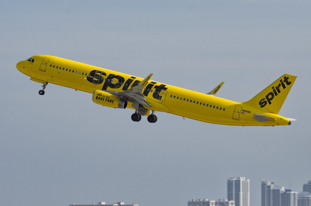 N661NK Airbus A321 231S cn 6867 Spirit Airlines departing Fort Lauderdale–Hollywood International Airport