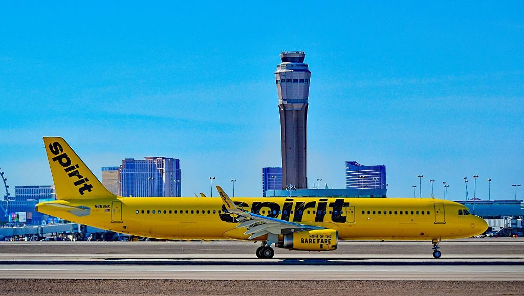 N668NK Spirit Airlines Airbus A321 231 cn 7135 at Las Vegas McCarran International LAS KLAS USA Nevada