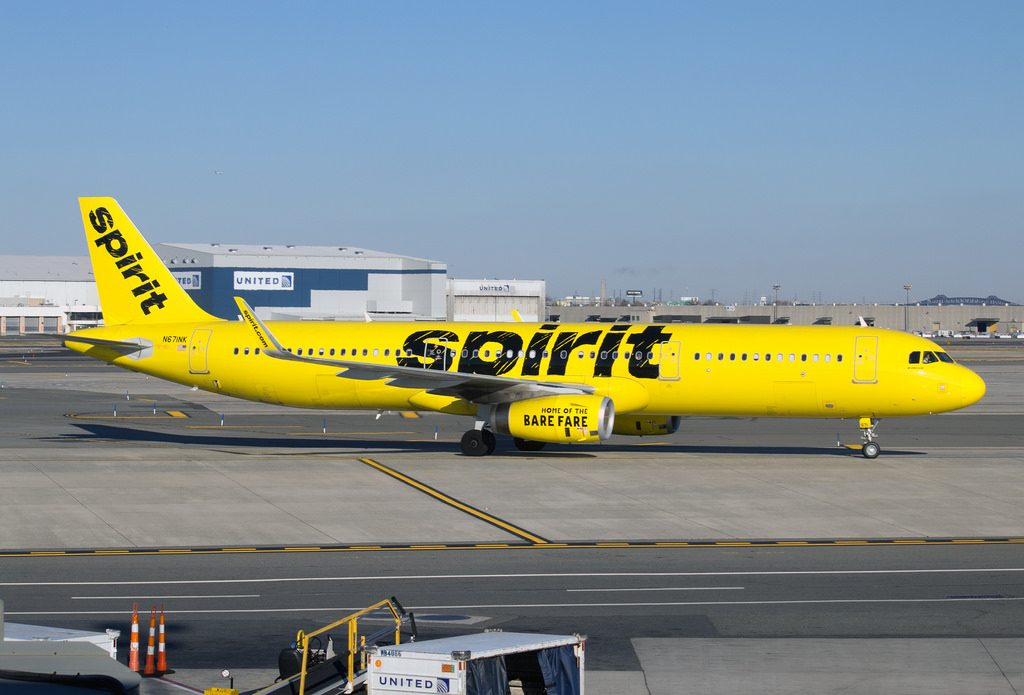 N671NK Spirit Airlines Airbus A321 231 at EWR Newark Liberty International Airport