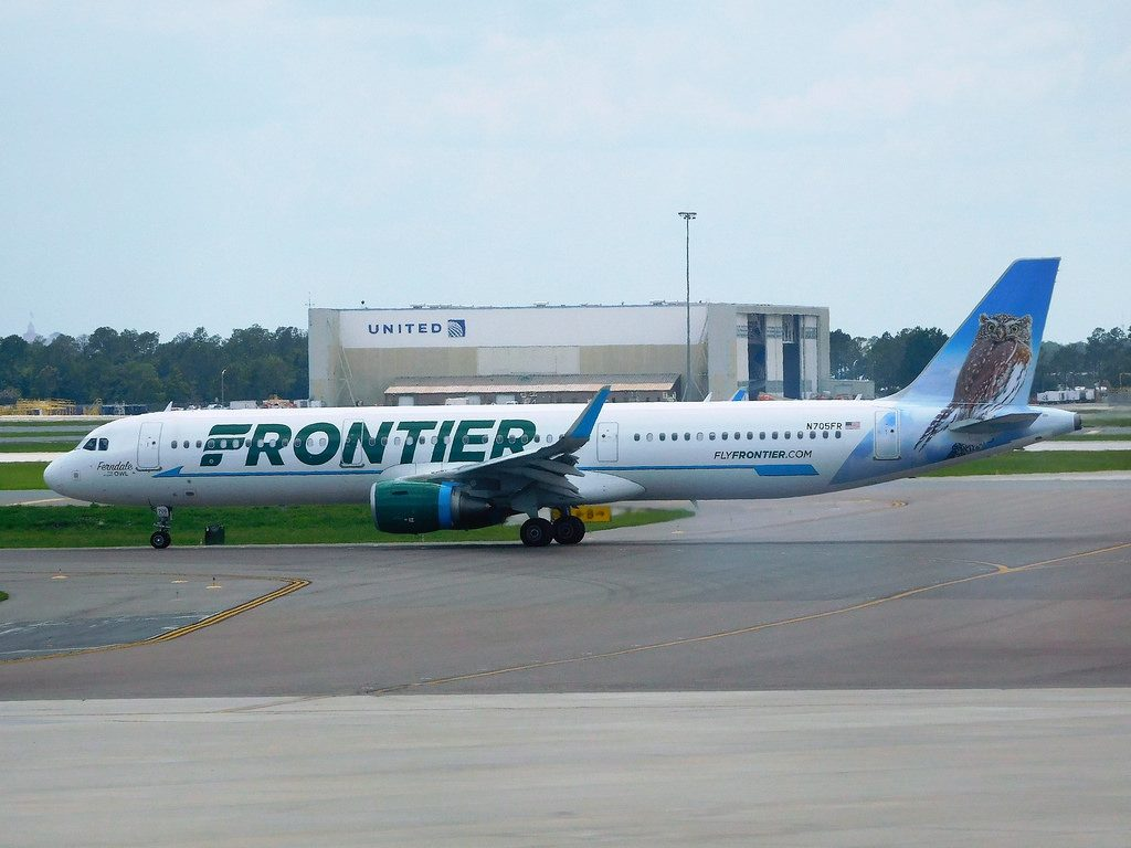 N705FR Frontier Airlines Airbus A321 211 cn 6891 Ferndale The Pygmy Owl