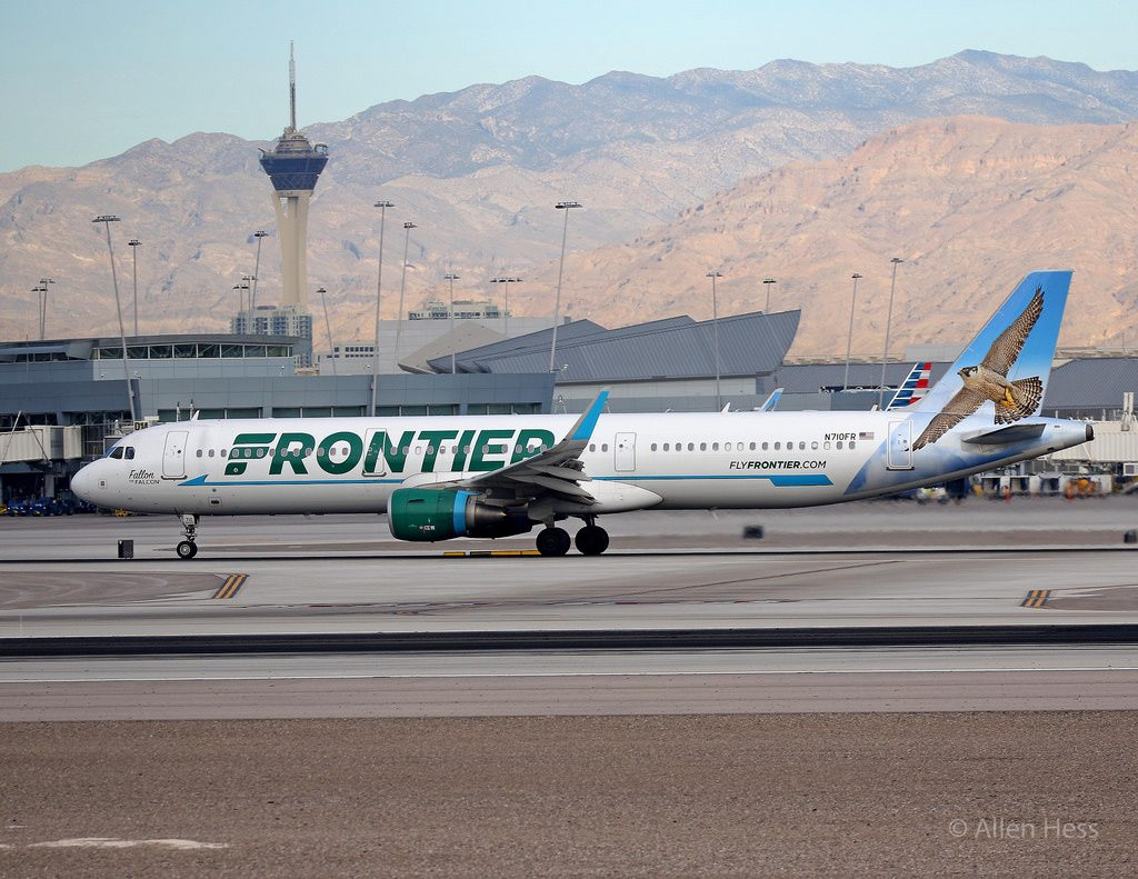 N710FR Frontier Airlines Airbus A321 200 Fallon the Falcon @AllenHess