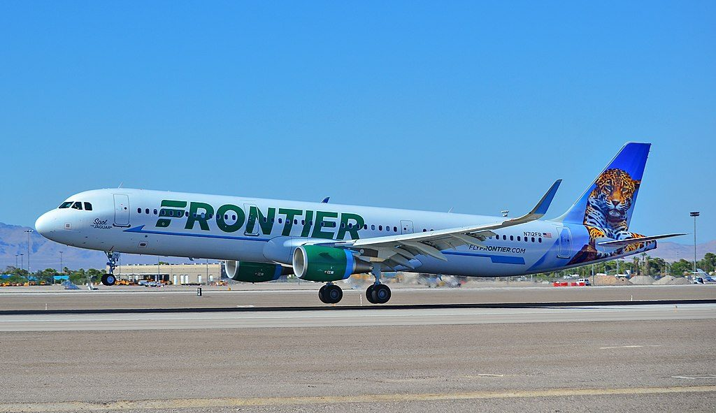 N712FR Frontier Airlines Aircraft Fleet Airbus A321 211 cn 7204 Spot The Jaguar landing and takeoff at McCarran International Airport LAS KLAS