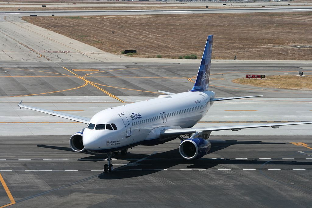 N760JB JetBlue Airways The Blues Were Made For Flying Airbus A320 200 at Long Beach Airport