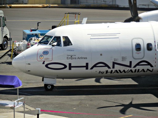 N806HC Ohana by Hawaiian ATR 42 500 operated Empire Airlines