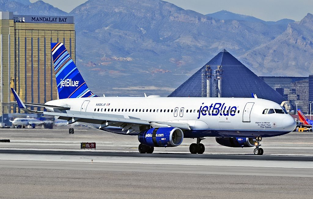 N806JB jetBlue Airbus A320 232wl sharklets CN 5302 Objects in Mirror Are Bluer Than They Appear