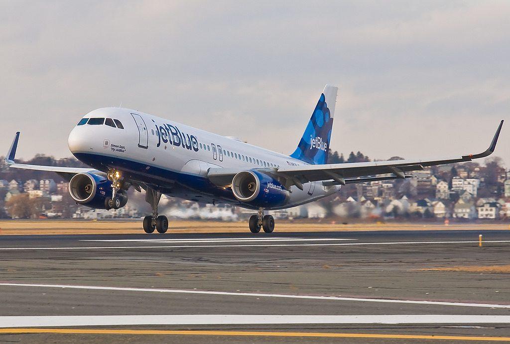 N828JB Airbus A320 200 sharklets JetBlue Airways Simon Says 22Fly JetBlue22 Aircraft Photos