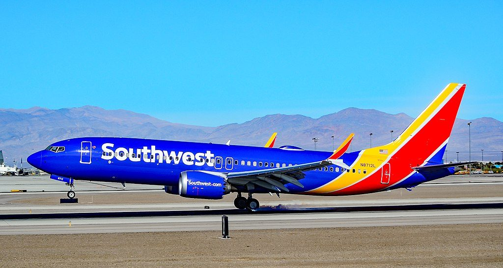 N8712L Southwest Airlines Boeing 737 MAX 8 sn 36930 at Las Vegas McCarran International LAS KLAS USA