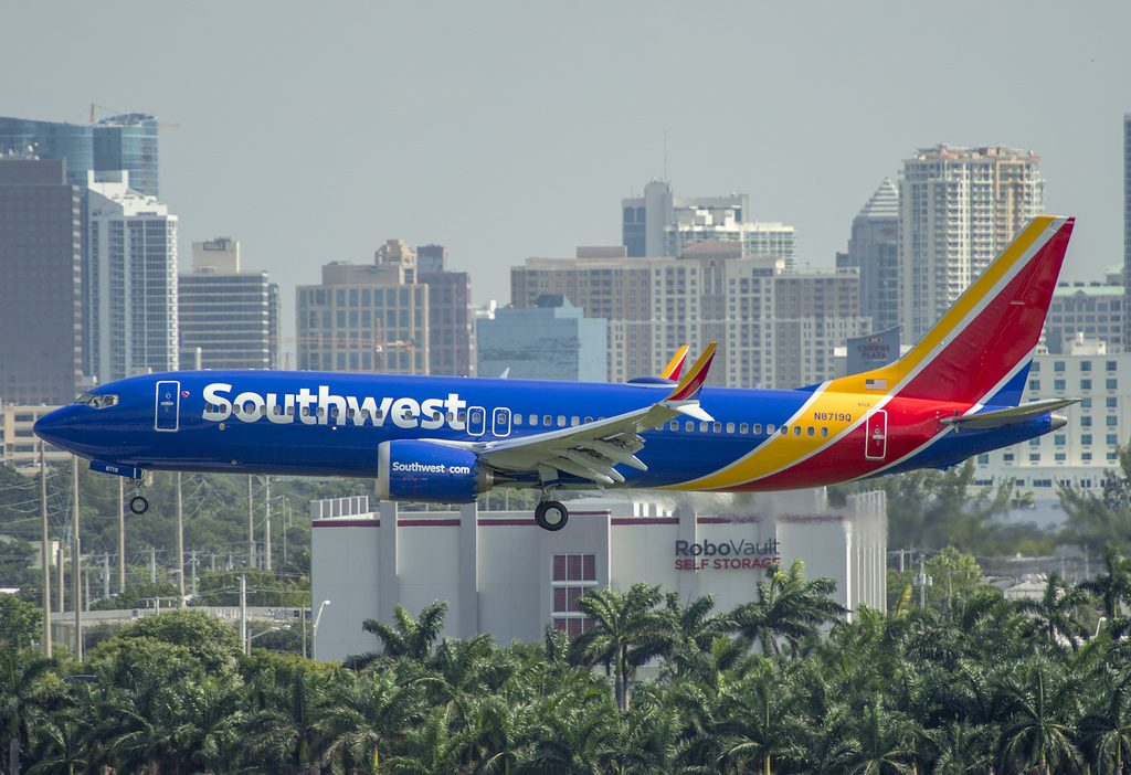 N8719Q Boeing 737 Max 8 Aircraft of Southwest Airlines Fleet Photos