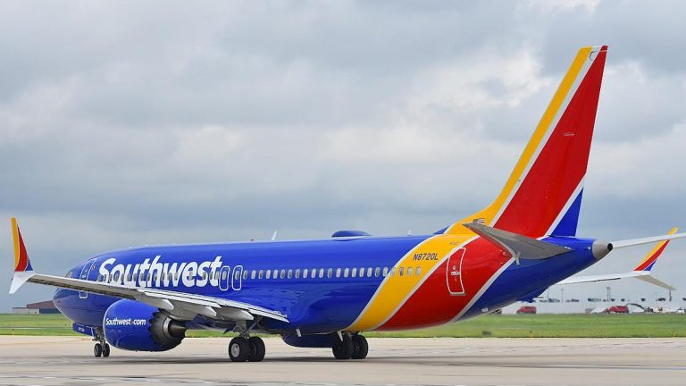 N8720L Southwest Airlines Aircraft Fleet Boeing 737 Max 8 Photos