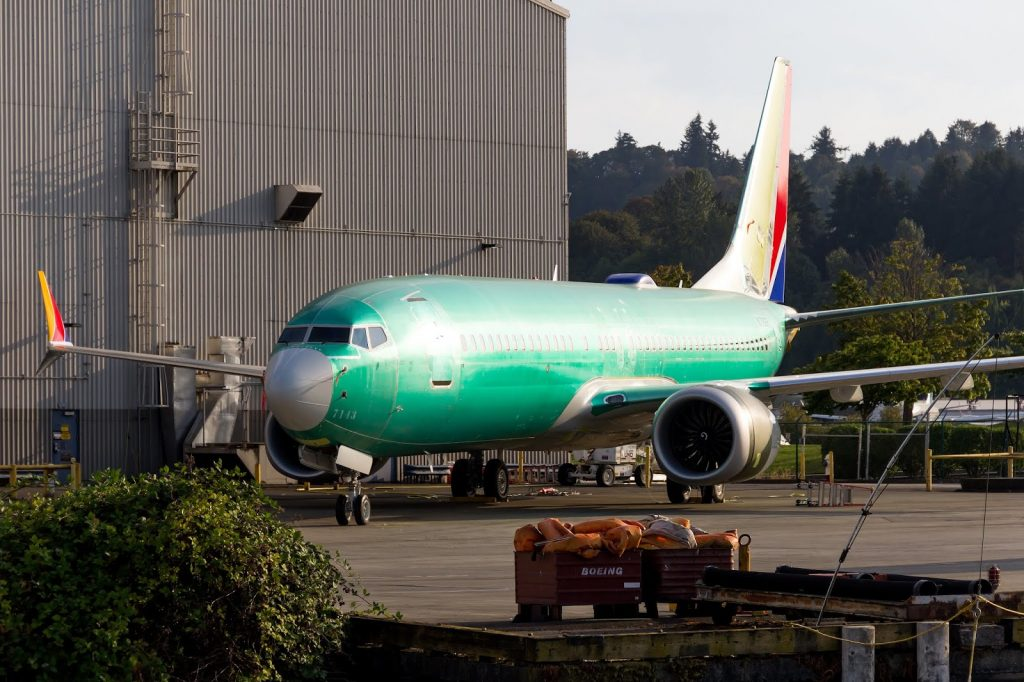 N8726H Southwest Airlines Boeing 737 Max 8 Aircraft Production Photos