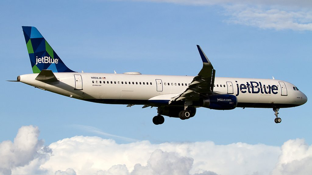 N958JB JetBlue Airways Airbus A321 200 Azulito Aircraft Photos