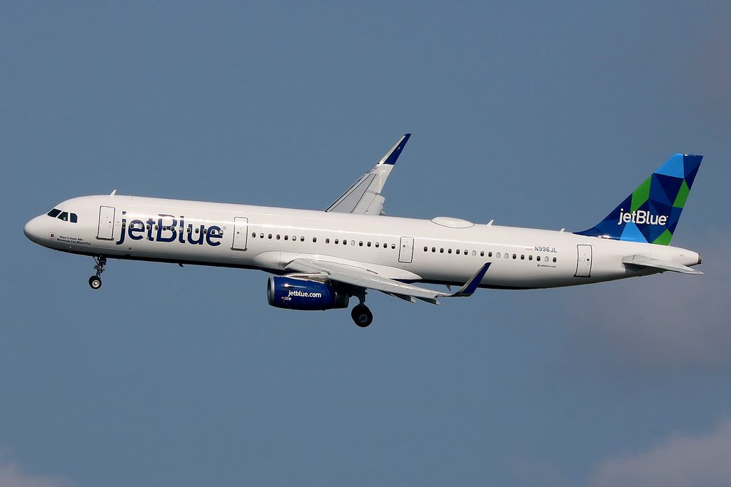N996JL Airbus A321 231W JetBlue Airways Dont Hate Me Because Im Bluetiful