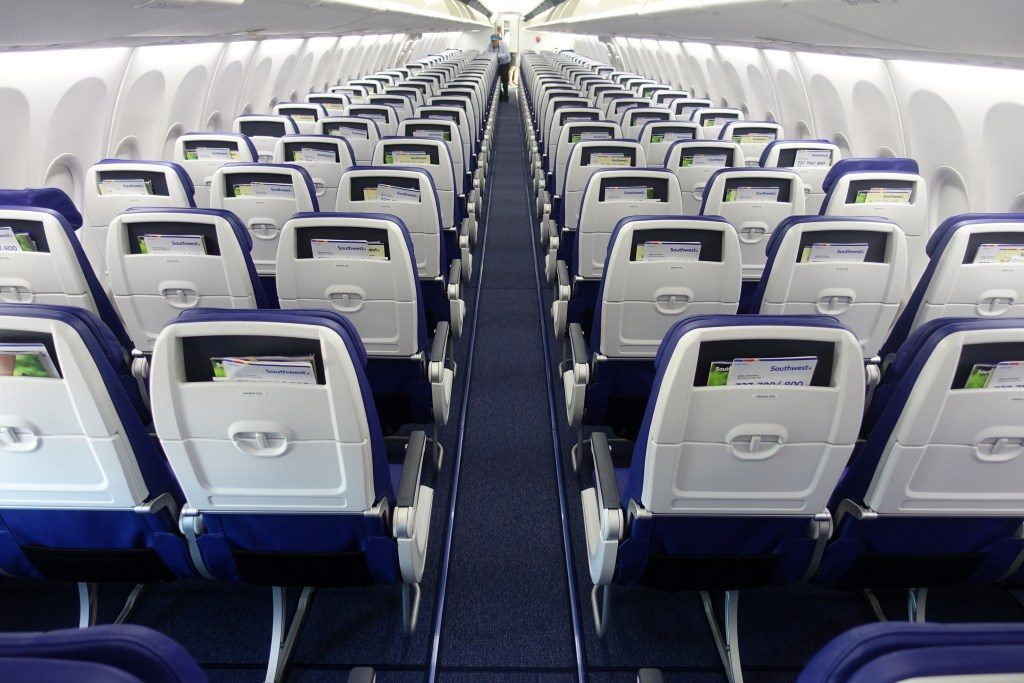 Southwest Airlines Boeing 737 Max 8 Aircraft Details Inside Cabin Interior Seating Chart and Seat map